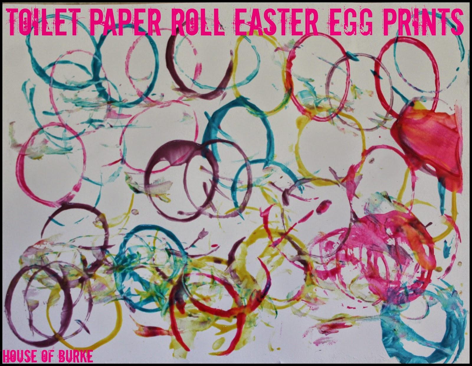 house of burke toilet paper roll easter egg prints
