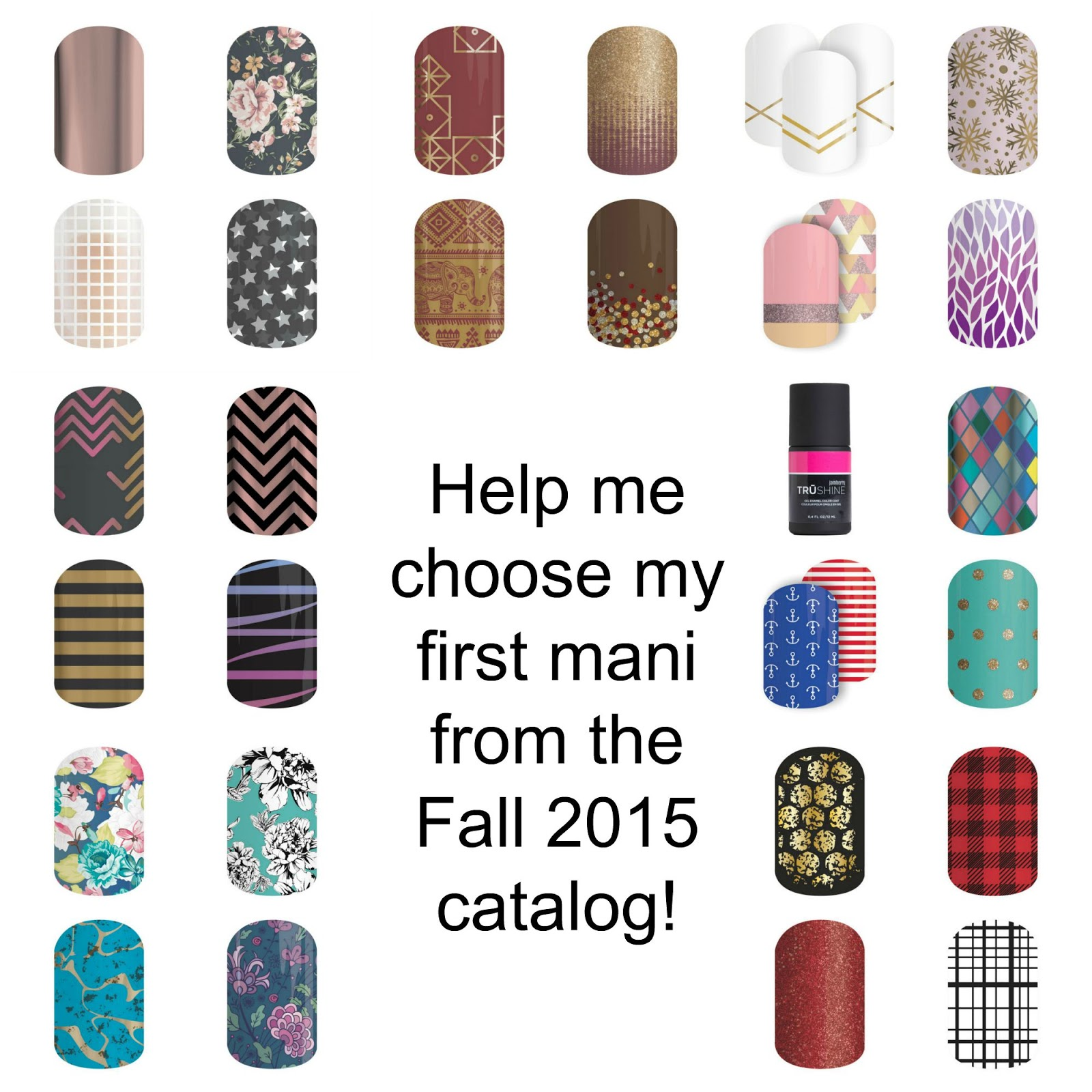 My Faves in the Fall 2015 Jamberry Catalog