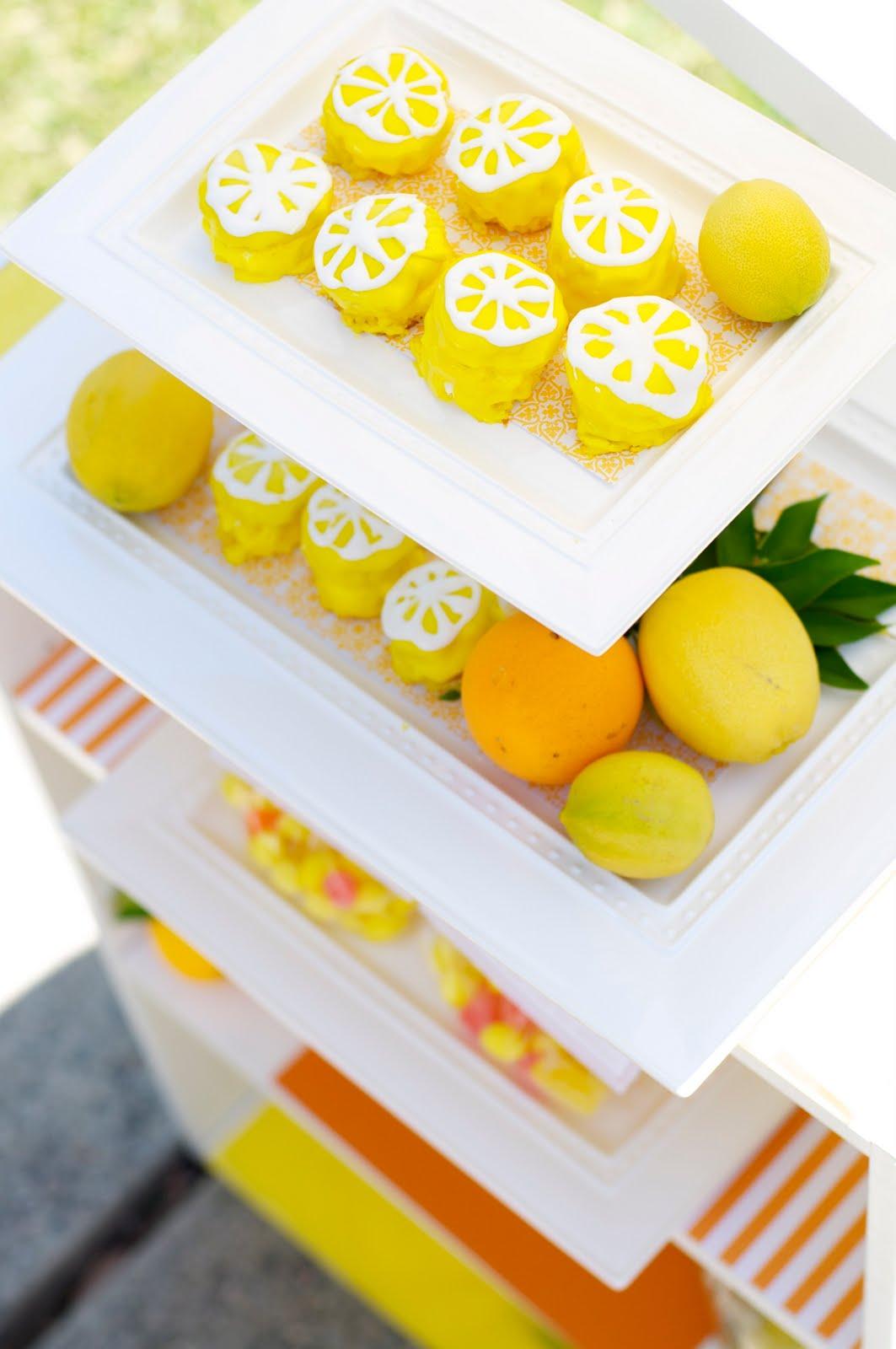 {MY PARTIES} lemon party