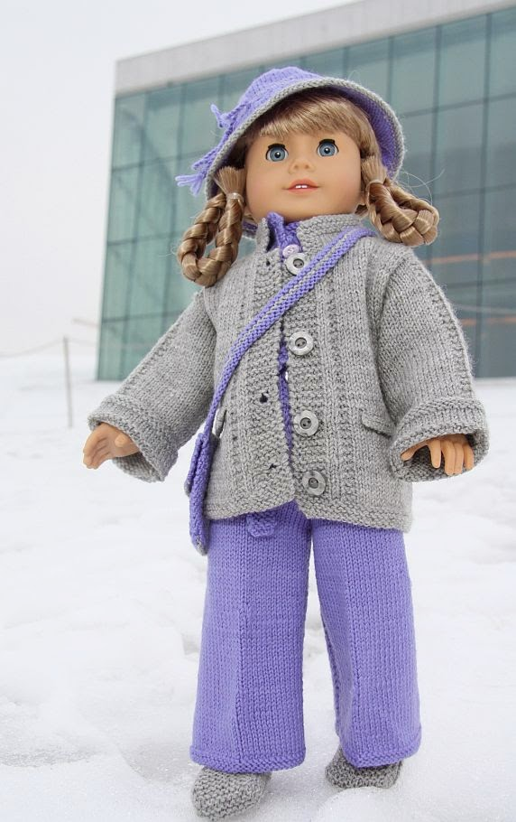 Knitting Patterns For 17 Inch Dolls : Karen Mom of Threes Craft Blog: A Year Of Knitting ...