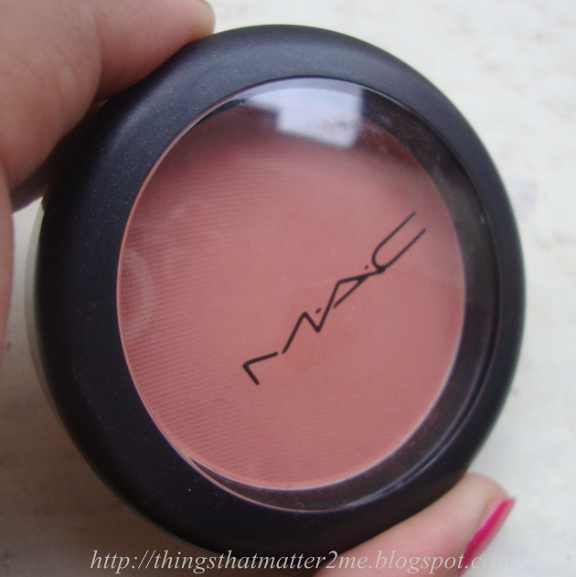 MAC Matte Powder Blush Melba : Swatch,Review And ...