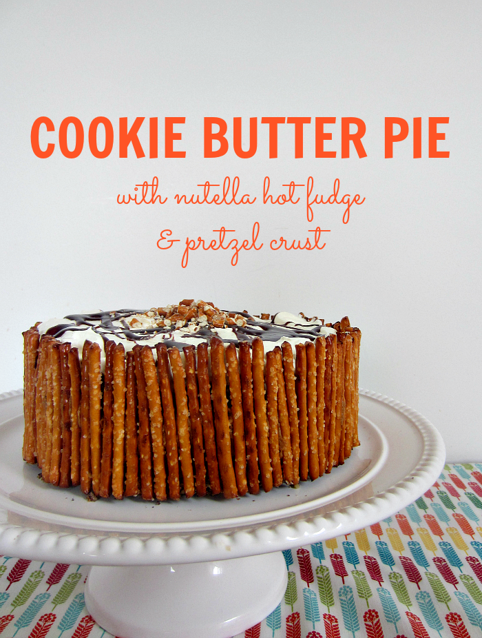 Cookie Crusted Peanut Butter Pretzel Pies Recipe — Dishmaps