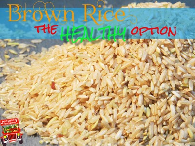 An Image of Uncooked Brown Rice