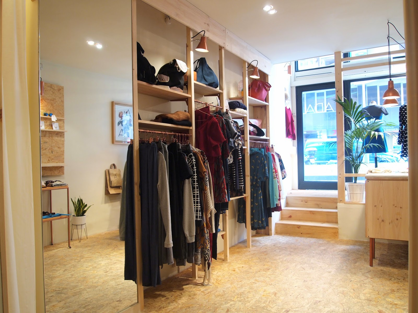 Ada Barcelona interior botiga