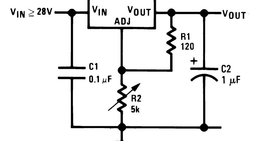 electronics projects  making a simple 1 25 to 35v variable
