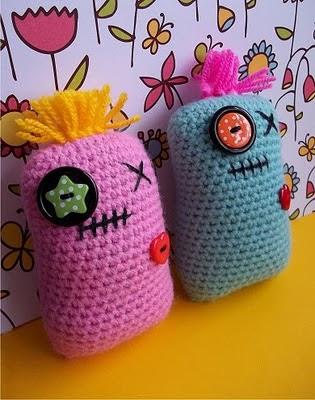 Pals Mini almohada!   Claudia Creaciones en Crochet