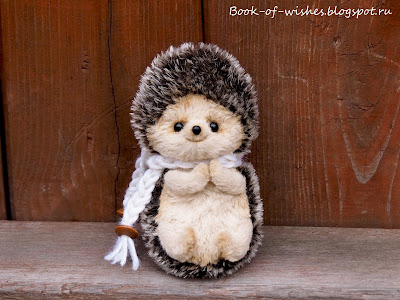cute teddy hedgehog