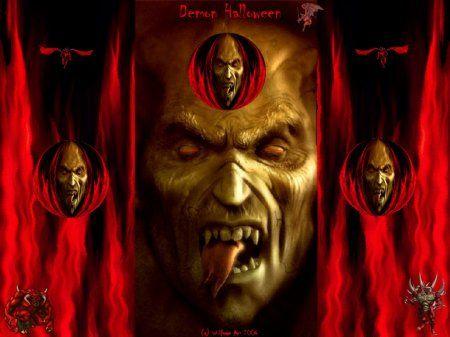 Gesicht vom Teufel