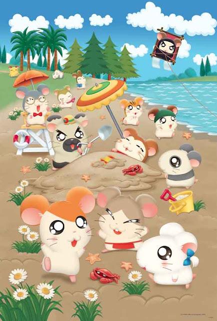 Hamtaro Poster