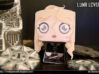 Mini Luna Lovegood fan art