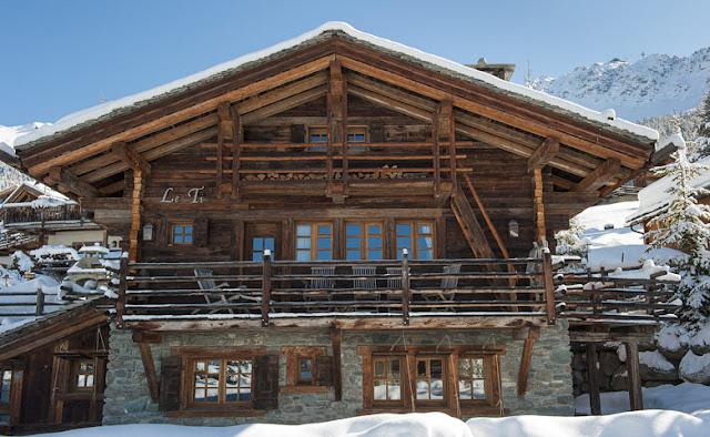 decorar casa de montaña