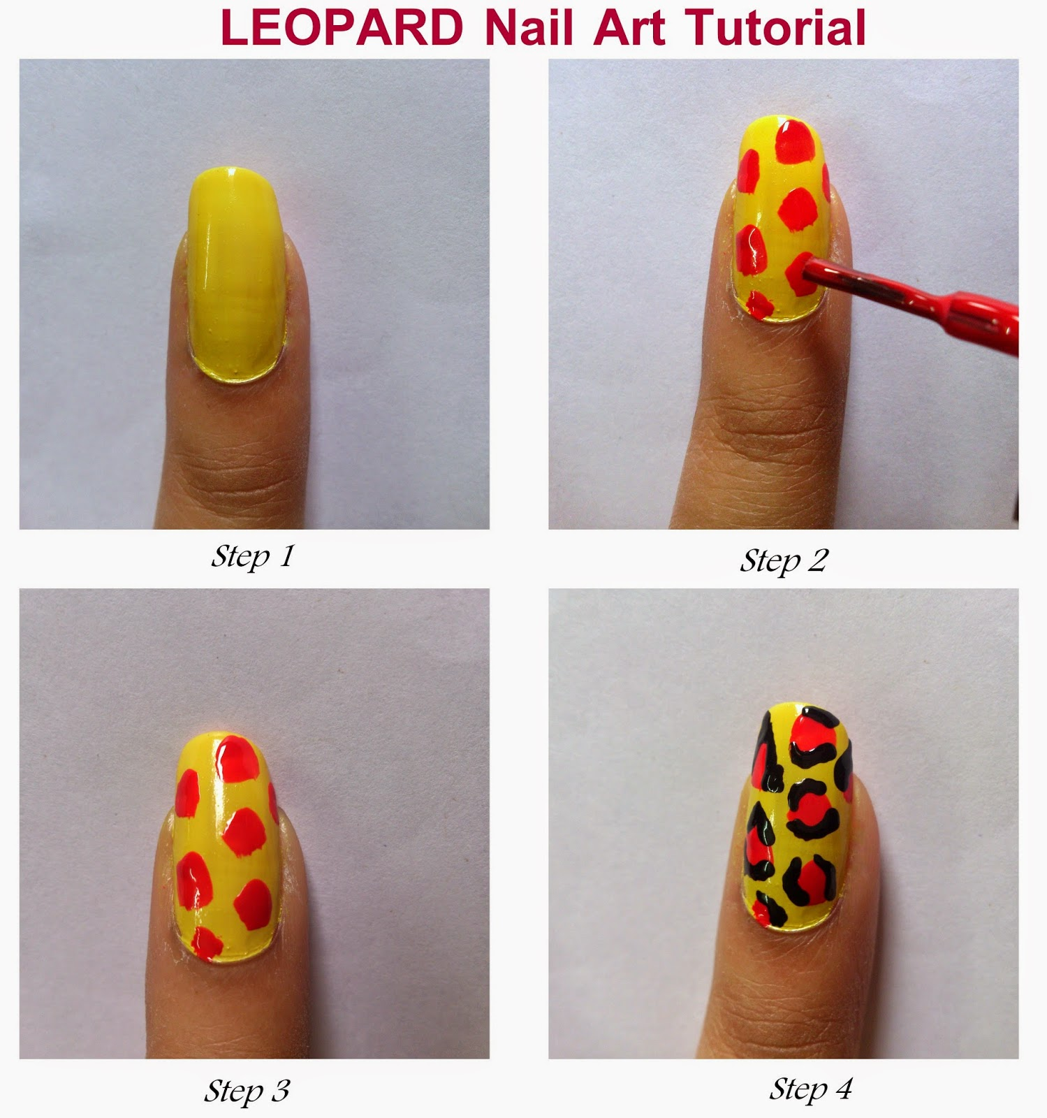 Nail art designs step by step at home | Nail Art and Tattoo Design ...