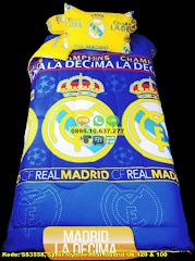 Harga Sprei Mylove Real Madrid Uk 120 & 100 Jual