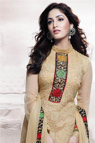 Pakistani Semi Formal Dresses 2015 16