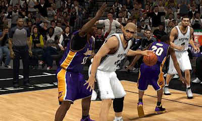 NBA 2K13 Tim Duncan Cyberface Patch
