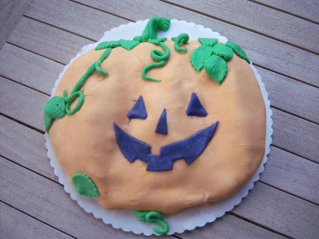 Torta Zucca halloween