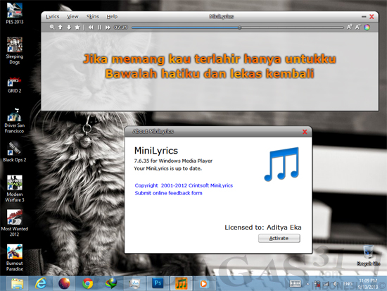 MiniLyrics 7.6.35 Full Loader