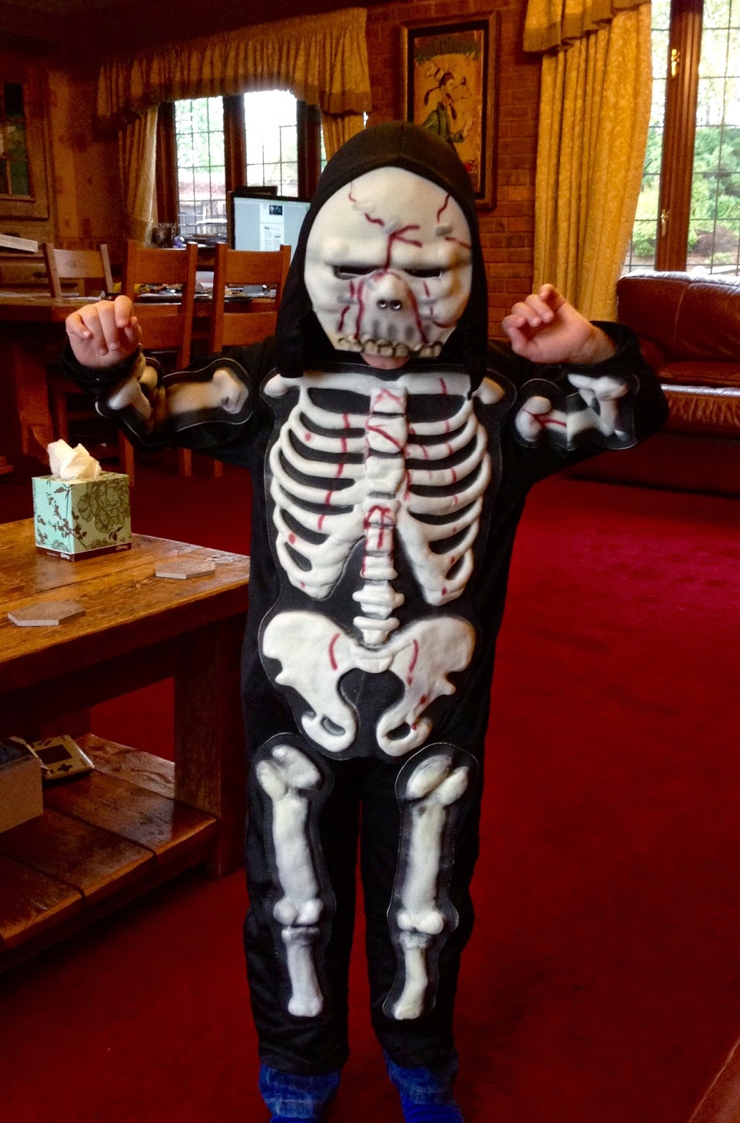 Skeleton Halloween Outfit