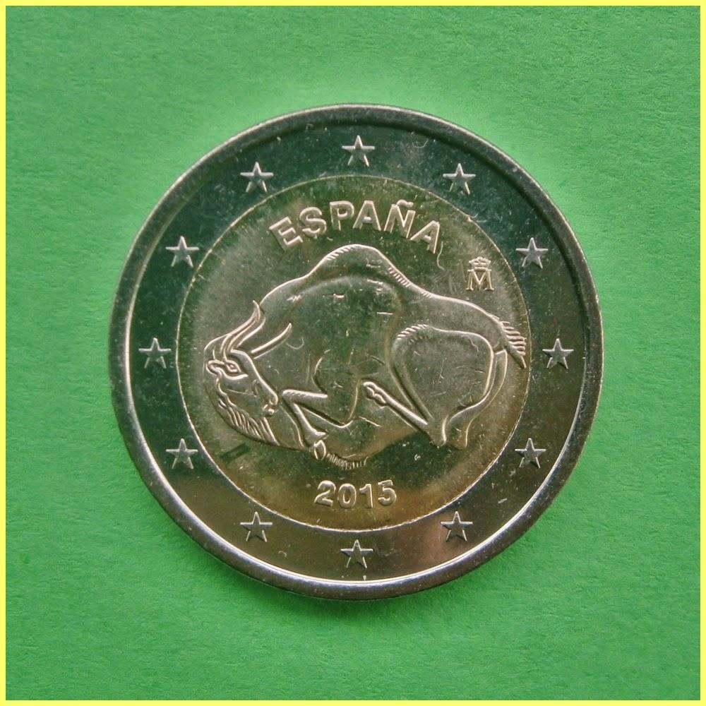 2 Euros España Altamira