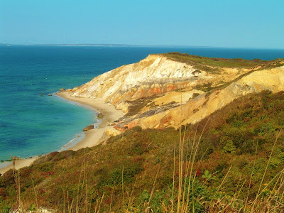 The clay cliffs of Aquinnah