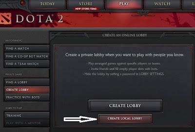 Dota 2 LAN Mode