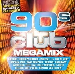 Dj Deep 90s Club Megamix (2011)