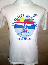 Vintage Nike Orange Tag St George Marathon 1982