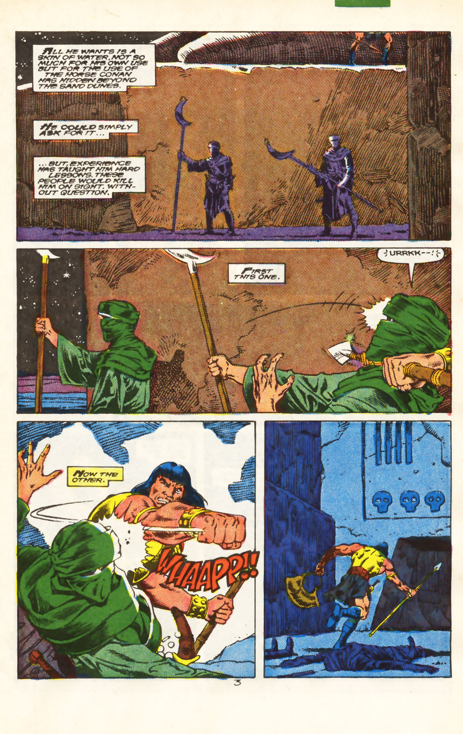 Conan the Barbarian (1970) Issue #213 #225 - English 4