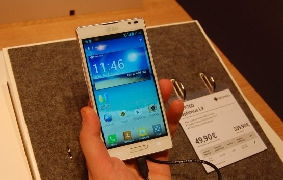 price lg optimus l9 white p760 hands on launch