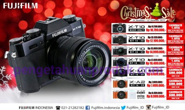 Promo Harga Kamera FujiFilm Desember 2015