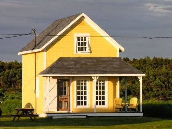 Fachadas de casas de campo casa campo amarilla - Fachadas de casas de campo ...