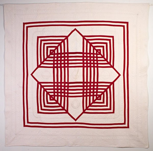Quilt Inspiration Infinite Variety In Red And White