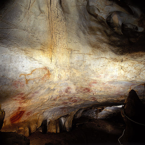 prehistoric cave art northern spain