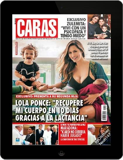Revista CARAS Argentina (02 Septiembre 2014) ESPAÑOL - Lola Ponce, recupere mi cuerpo en 10 dias gracias a la lactancia