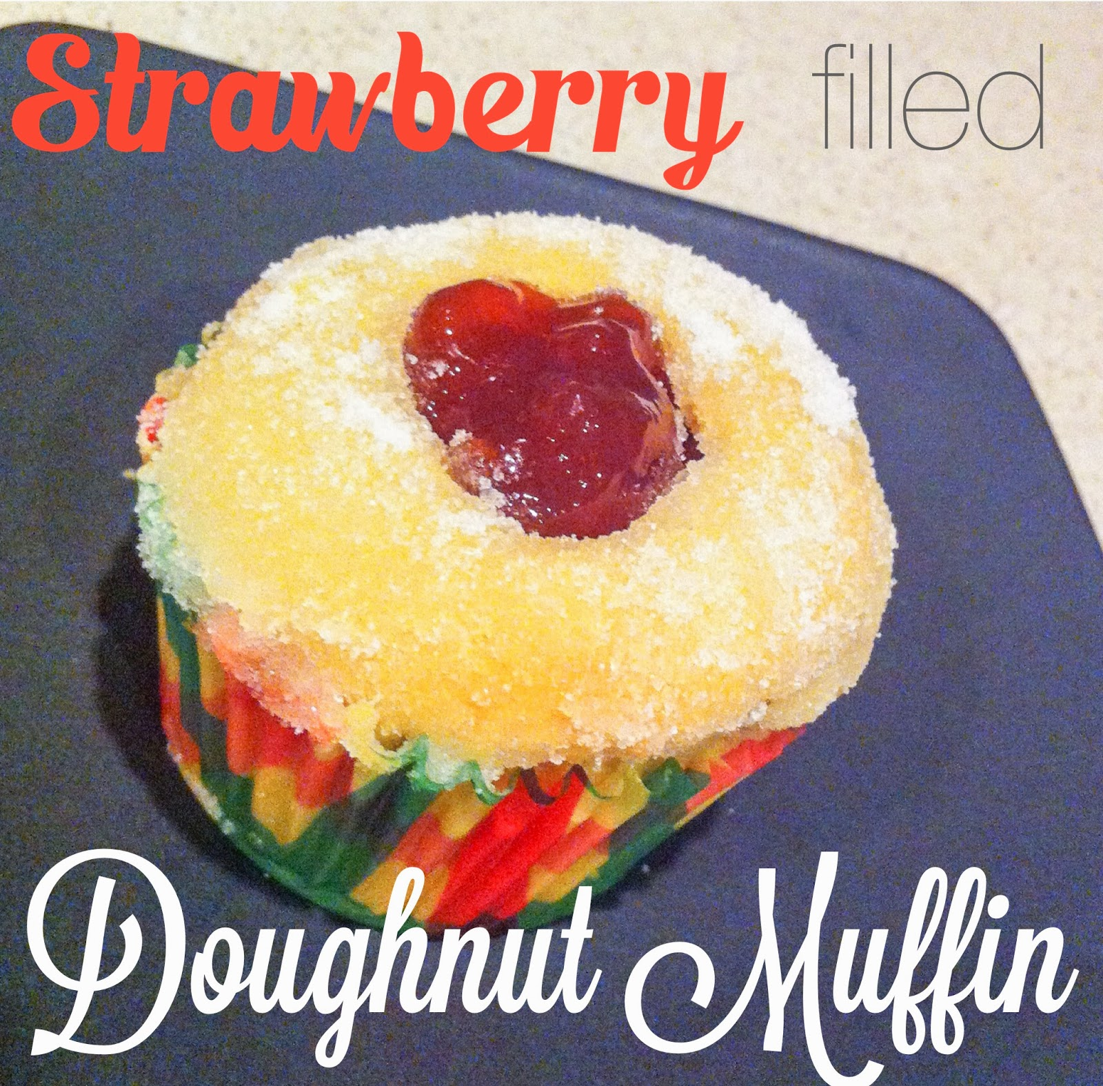 Strawberry filled Doughnut Muffins are easy and delicious- Alohamora http://alohamoraopenabook.blogspot.com/