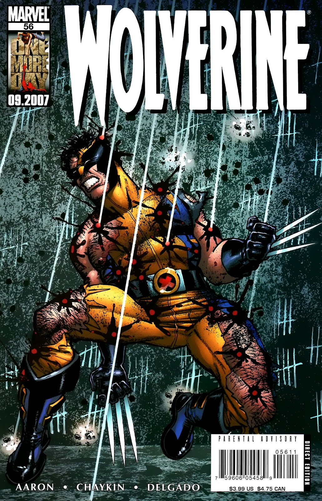 Read online Wolverine (2003) comic -  Issue #56 - 1