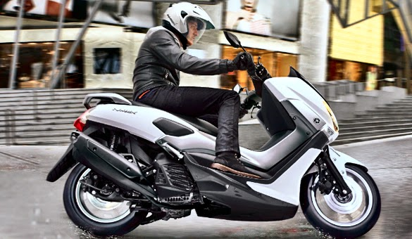 Motor Matic Besar Yamaha NMAX 155 cc