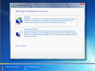 10. Which type of installation do you want? >> pilihcustom (advanced)