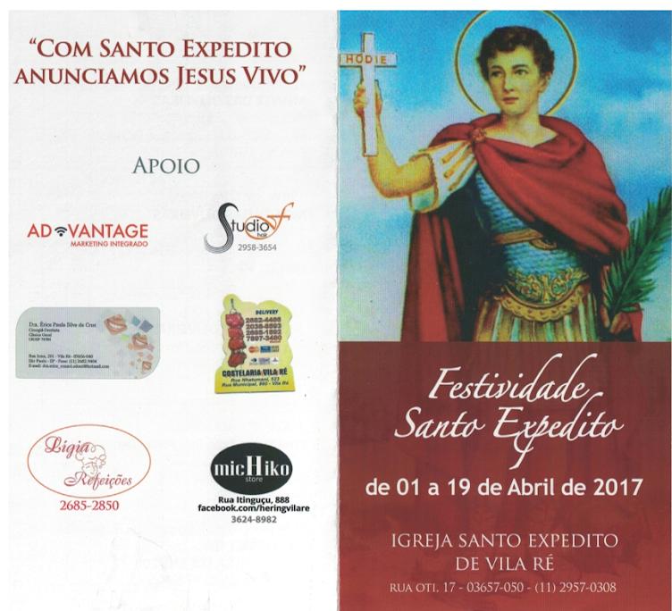 Paróquia Nossa Senhora Aparecida -  Vila Granada