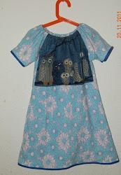 ugle kjole