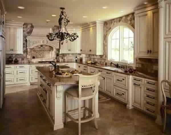 buffet de cuisine style anglais - Meuble Design Anglais