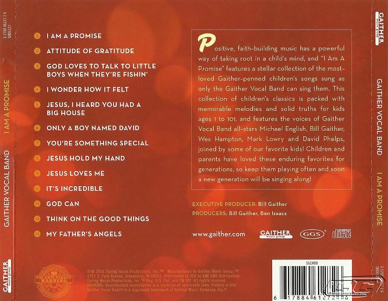 Gaither Vocal Band - I Am A Promise 2011 Tracks and lyrics