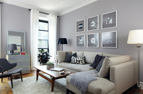 Love The Wall Color With White And Dark Carpet