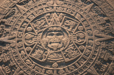 Mayan Calendar - closeup shot
