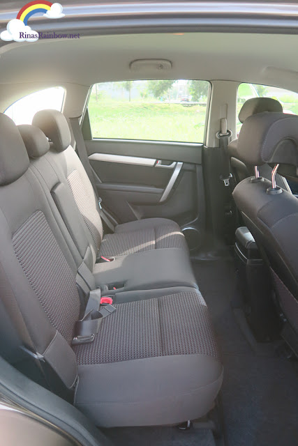 Chevrolet Captiva middle seats