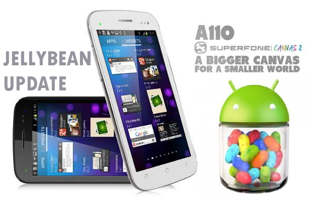 micromax A110 gets jellybean update