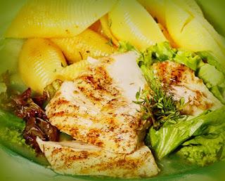 Pechuga al grill en salsa de limón