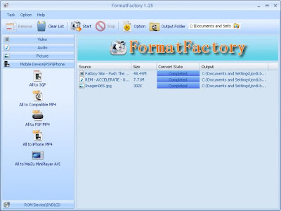 format factory portable