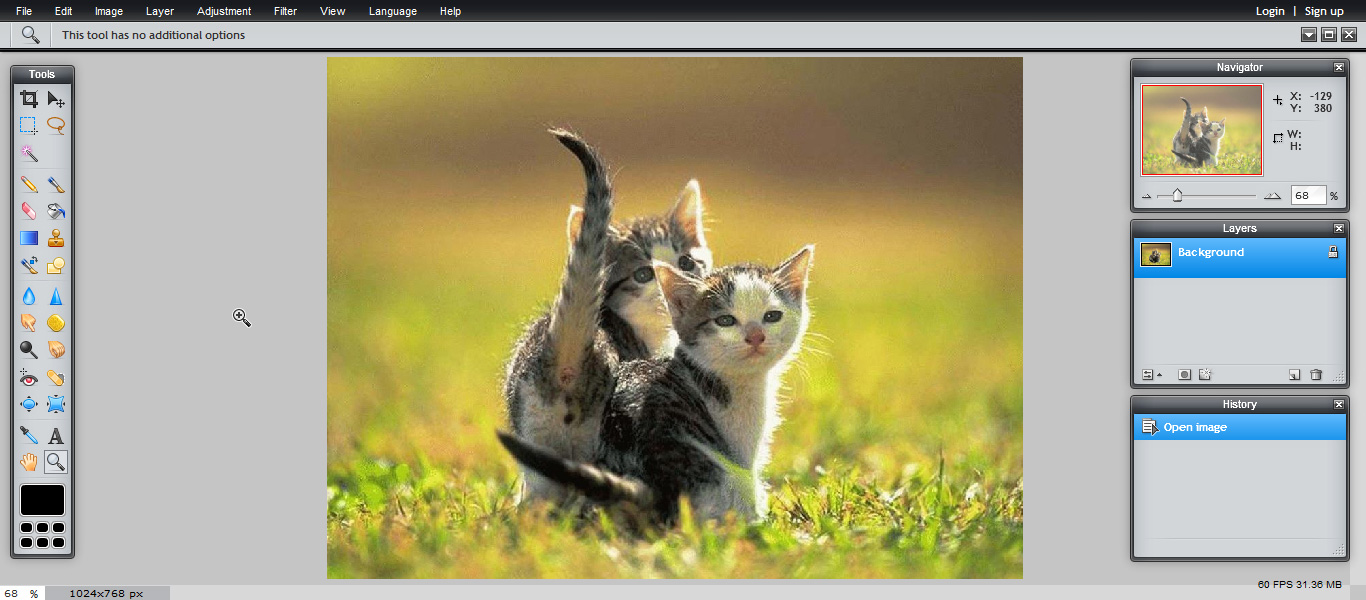 редактор фото онлайн лучший
