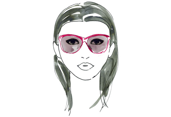 Perfect Eyeglass Frame For Round Face : Hair, Fashion and Beauty: Perfect Sunglasses For Your Face ...